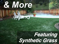 Pet Turf synthetic lawn